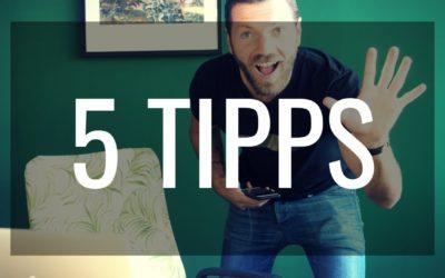 5 wichtige Tipps für NoFap