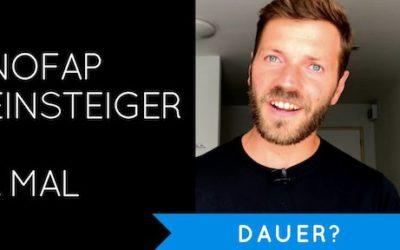 NoFap Einsteiger – Wie lange NoFap beim ersten Mal (Deutsch)